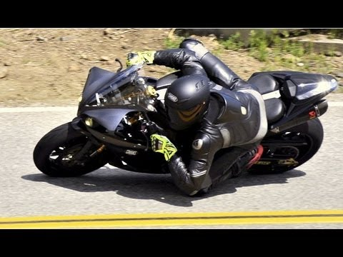 Proper Body Position on a Motorcycle - Mulholland HWY Snake section