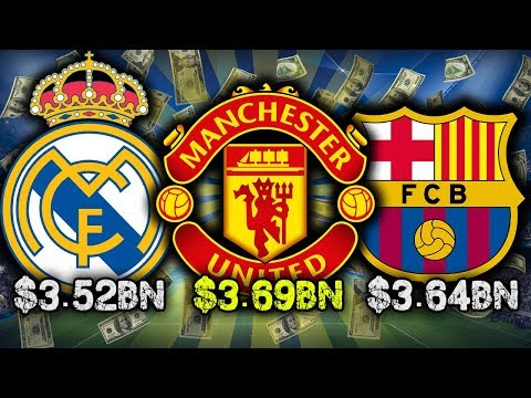10 Richest Football Clubs 2017!