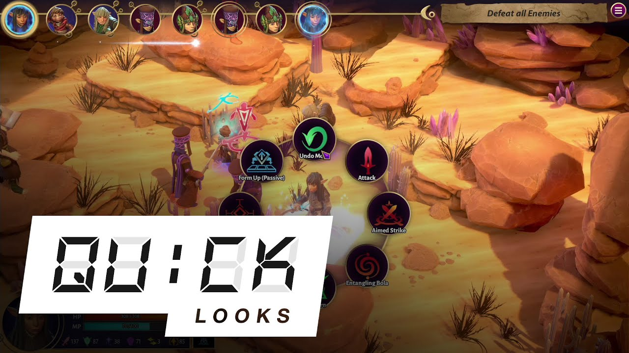 Jim Henson's The Dark Crystal: Age of Resistance Tactics: Quick Look (Video Game Video Review)