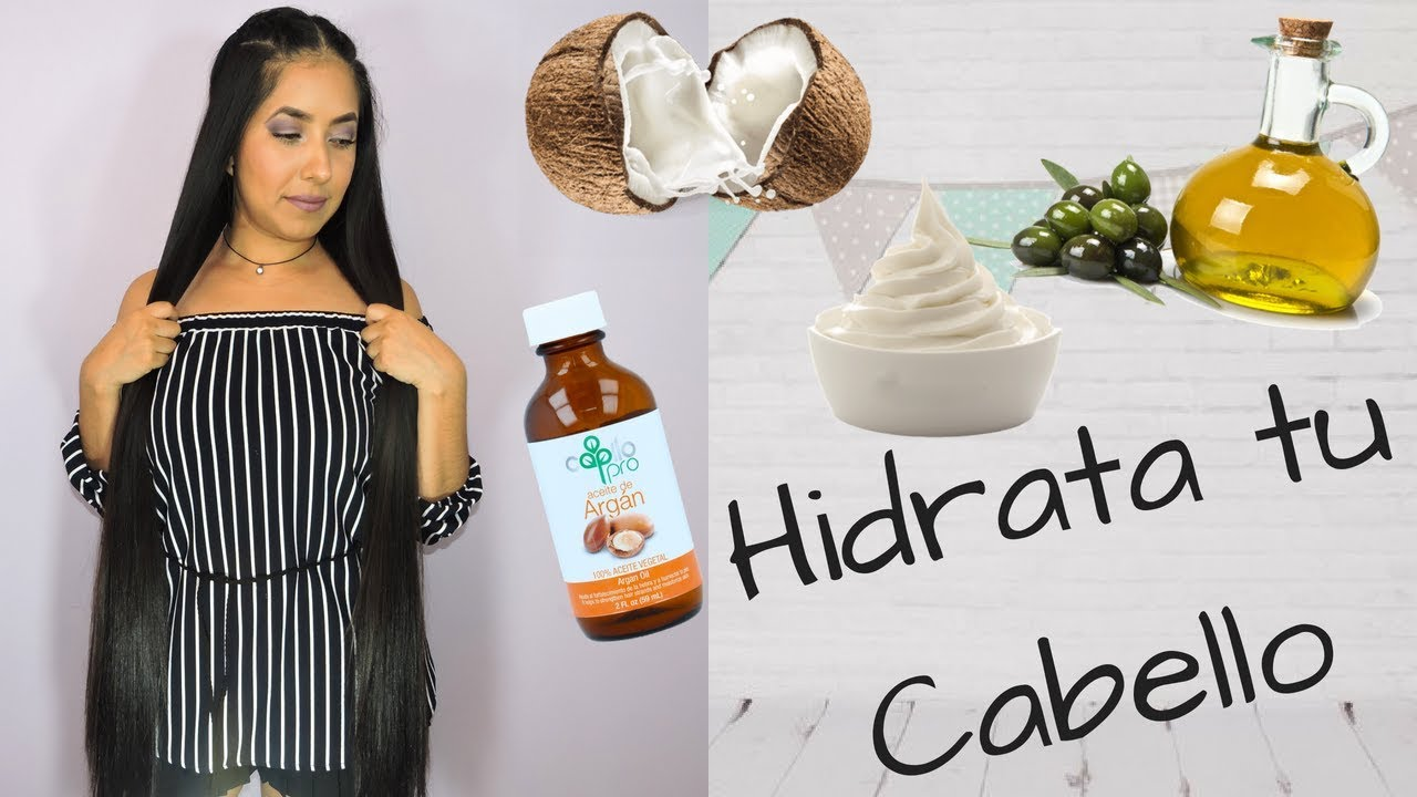 Mascarilla De Leche De Coco Para Crecimiento Hidratación Y Reparación De Cabello Youtube