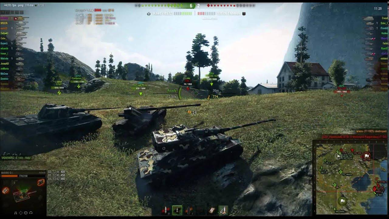 Anfield's Mod Pack v1 1 [9 15] | World of Tanks 1 6 0
