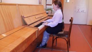 Антонова Лиза, 9 лет, общ. ф-но(1 год обучения) - Н. Любарский