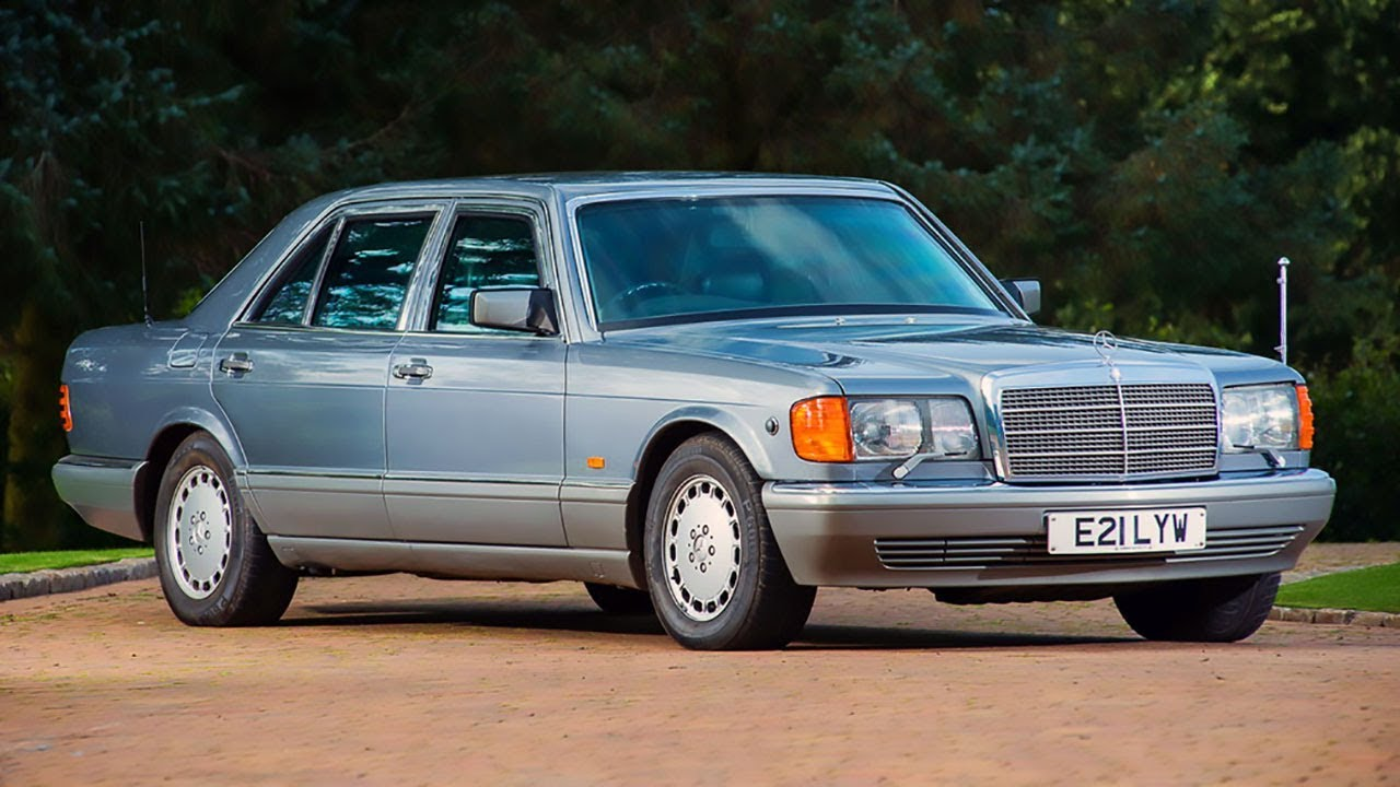 1987 armored mercedes 560 sel w126 youtube