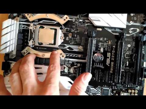 Moje PC Kaby Lake Intel Core I7-7700K MB ASUS Prime-Z270A GPU ASUS STRIX-GTX970