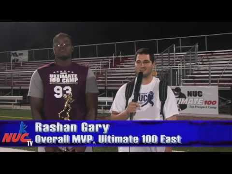 Rashan Gary - Freshmen Overall MVP - NUC Ultimate 100 East Football Camp