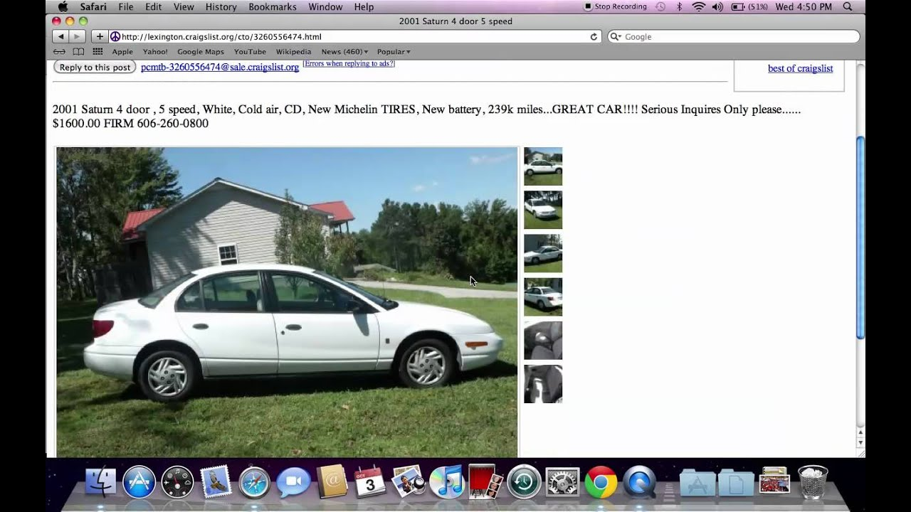 Craigslist Lexington Kentucky Used Cars - Cheap for Sale By Owner Deals in  Late 2012 for Buyers