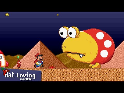Pikmin... in Super Mario Bros 2! (Day 2)