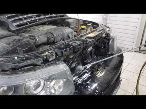 Мойка радиаторов без снятия с автомобиля