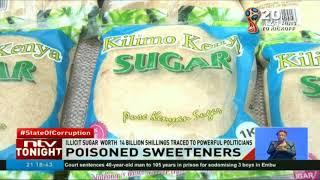 Seized contraband sugar contains mercury, copper