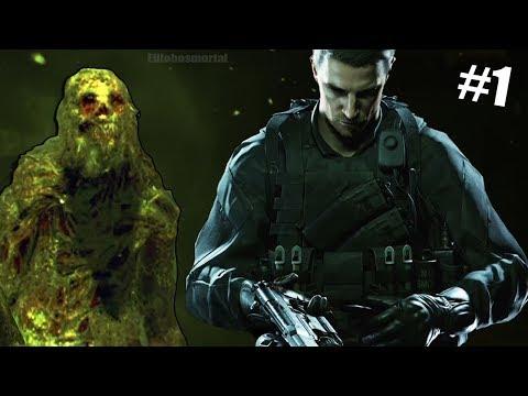 CHRIS & LA MINA DEL HORROR !  Resident Evil 7 DLC Not a Hero Parte 1
