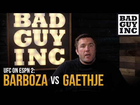 Gaethje vs Barboza: I can't wait for this fight...but can't tell you why.