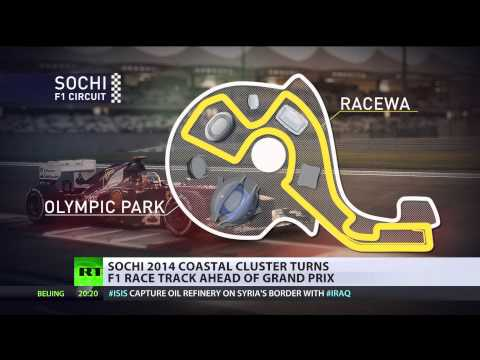 Sochi Race: Formula One circuit coming to black sea resort