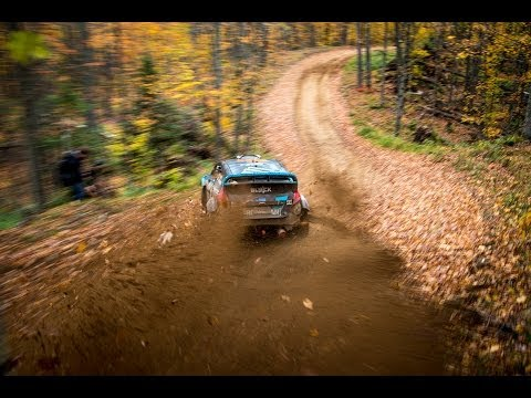 Ken Block and Alex Gelsomino's test session for their Rally America Championship title fight [HD]