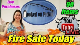 Live Fire Sale Over 90 Items Knives, Clothes & More Buy direct from Me! - Online Reselling
