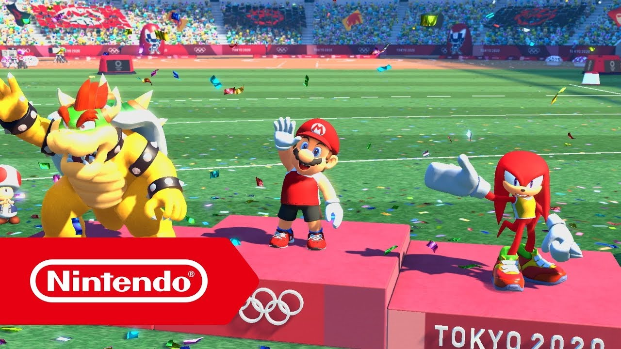 Mario Sonic Bei Den Olympischen Spielen Tokyo 2020 E3 2019 Trailer Nintendo Switch