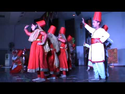 THE ANNUAL CONCERT OF CLASS II AT THE MILLENNIUM SCHOOL, LUCKNOW