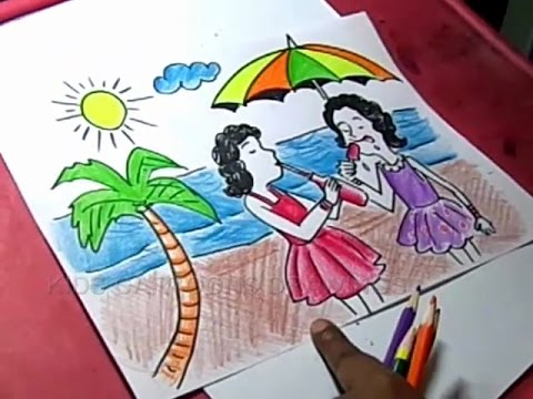 Drawing Of Autumn Season Drawing Lesson How To Draw An ...