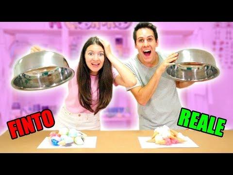 GELATO VERO VS GELATO FINTO! (Skifidol Ice Cream)