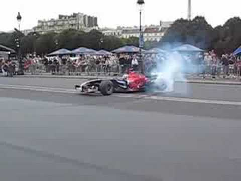 F1 Formula One in Paris Sebastien Bourdais Toro Rosso