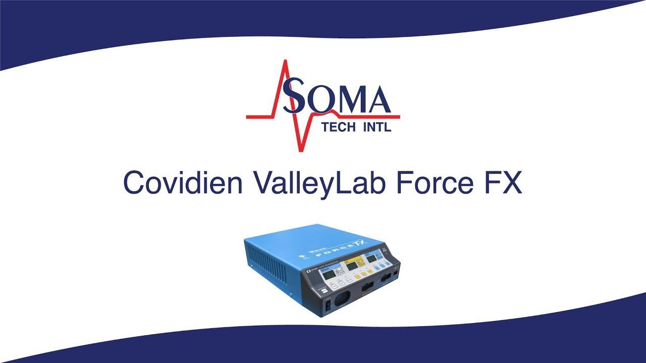 Medtronic Covidien ValleyLab Force FX - Soma Technology, Inc