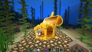 Minecraft: How to Find Treasure Underwater - (Minecraft Find Underwater Treasure)