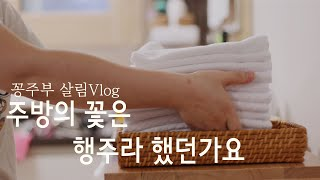ENG) 행주관리 루틴과 보관법 feat.행주부자 꽁주…