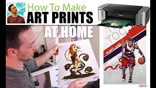 How to Sell Art Prints From Home