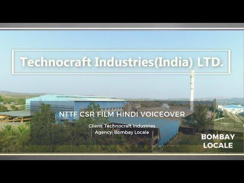 TECHNOCRAFT INDUSTRIES CSR Film. NTTF(Nettur Technical Training Foundation) Murbad Centre. Hindi