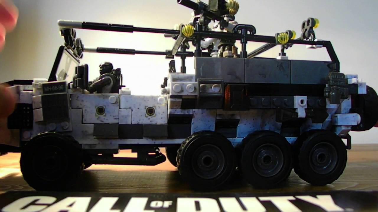 Call of Duty Mega Construx Heavy Tactical Cargo Truck Set