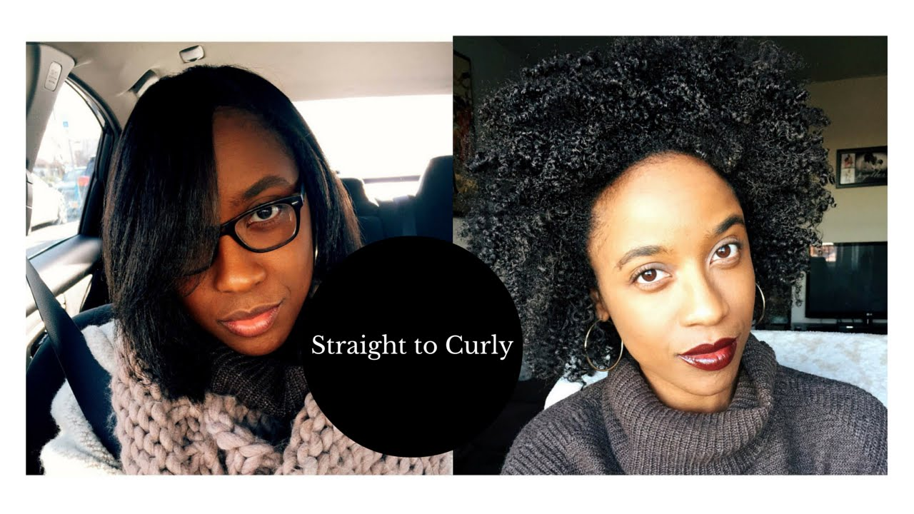 how to avoid heat damage when straightening natural hair