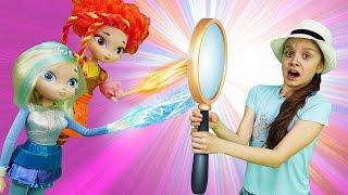 Куклы Сказочный Патруль стали злыми! —Мегатрон икуклы ВОЛШЕБНИЦЫ— Шоу ОХОТНИКИ новая серия