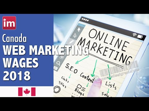 Web Marketing Manager Salary In Canada (2018) - Wages In Canada