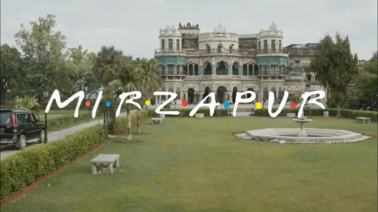 MIRZAPUR as a Friends | with laughing track | Sitcom