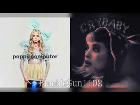 Poppy, Melanie Martinez - Pop House (Pop Music x Dollhouse mashup)