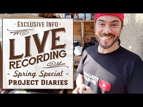 ★ Project Diaries Live: Spring has Sprung (Seed Sowing Special)