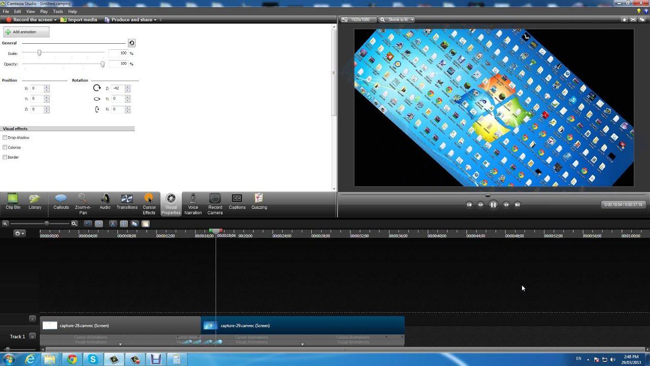 Camtasia studio 8 как сделать переход между слайдами youtube.