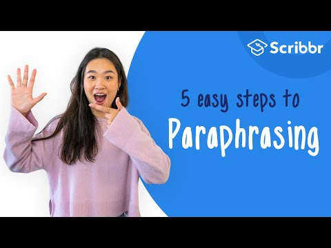 How to Paraphrase in 5 Easy Steps | Scribbr 🎓