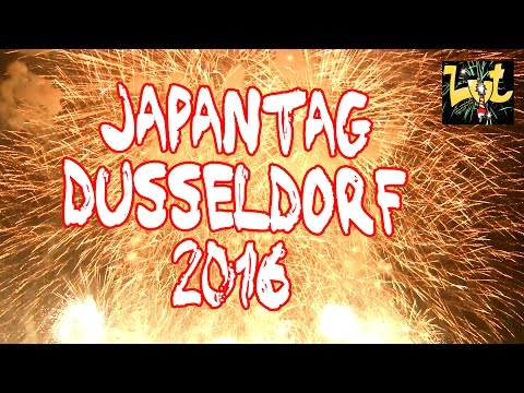 Japantag 2016 Düsseldorf Feuerwerk