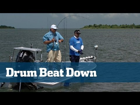 Black Drum; How To Catch Black Drum - Florida Sport Fishing TV