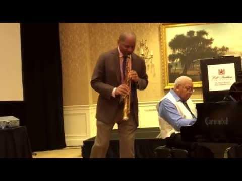 """Sweet Lorraine"" Branford and Ellis Marsalis - soprano sax / piano duet"