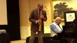"""Sweet Lorraine"" Branford and Ellis Marsalis - soprano sax / piano duet"