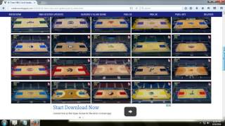 NBA 2K14: How To Install 30 Team Court Pack Mod
