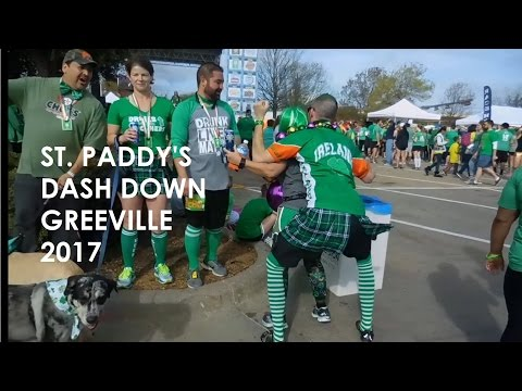 St. Paddy's Dash Down Greenville 2017