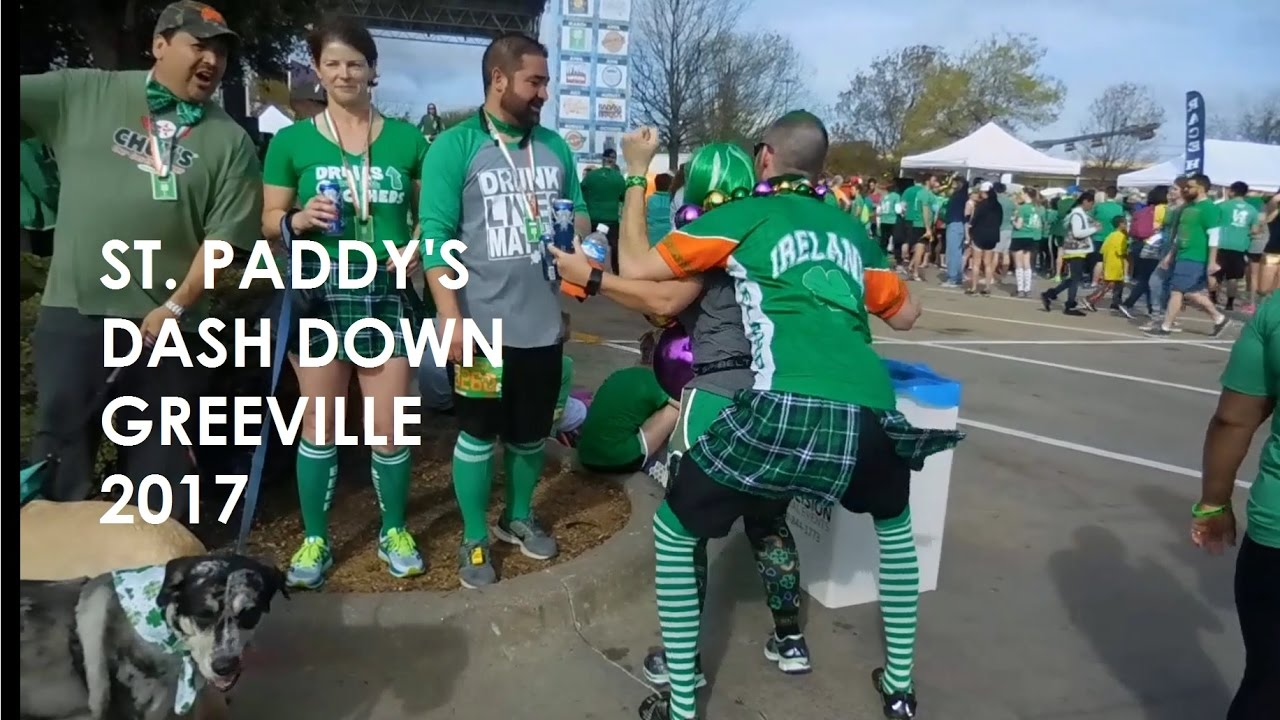 St  Paddy's Dash Down Greenville 2017