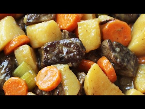 Homemade Beef Stew - Fork Tender Meat