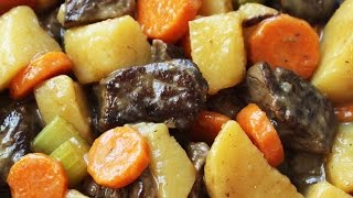 Easy Beef Stew - Fork Tender Meat