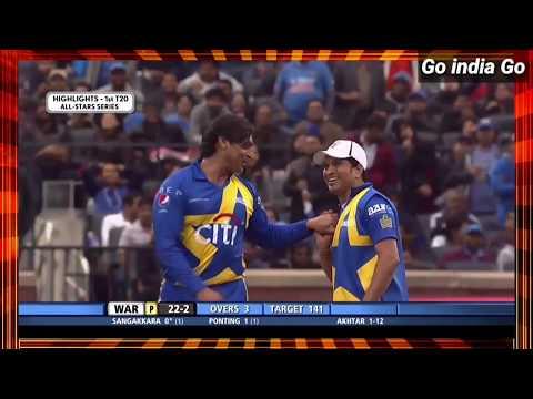 Sachin Blasters vs. Warne Warriors1st t20 match highlights