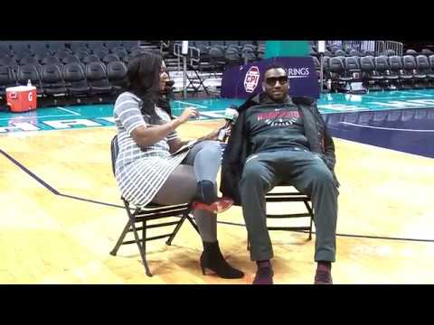 Courtside with Ashley Holder: One-on-One w/ John Wall ...