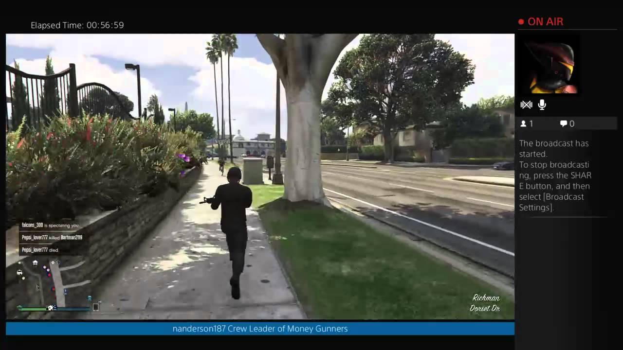 how to get a mob in gta 5 online ps4