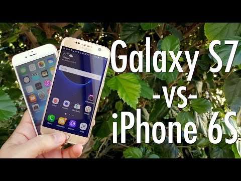 Samsung Galaxy S7 vs Apple iPhone 6s Smartphone Showdown